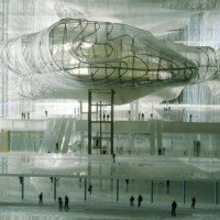 "Inaugurated the Fuksas ""Cloud""  in the Eur"